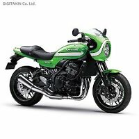 AOSHIMA Motorcycle Kawasaki Z900RS 1/12 Cafe Vintage lime green Japan