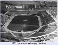 CFL 1953 Opening of Winnipeg Stadium Winnipeg Blue Bombers 8 X 10 Photo Picture