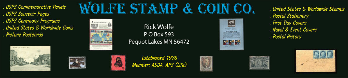Wolfe Stamp and Coin Co