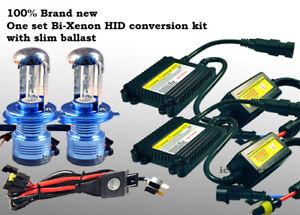 9007 HB5 Bi-Xenon HID Conversion Kit 3000K Golden Yellow light Replace Bulbs 77B