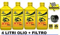 BARDAHL Xtc C60 10w50 Olio Motore 4 L + FIltro olio omaggio