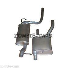 Ford Focus MK1 98-04 1.6 Exhaust Centre + Rear Silencer Back Manual Hatchback