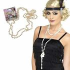 Gatsby Pearl Necklace Moll Flapper Beads 72