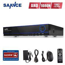 SANNCE 16CH 1080N H.264 AHD Video Surveillance Security CCTV DVR Recorder System