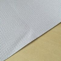 11 Count Aida Fabric 100% Cotton Cross Stitch in White Various Sizes