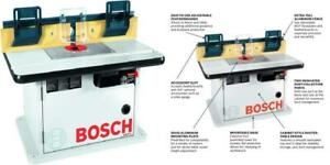 Bosch Cabinet Style Router Table RA1171 Blue