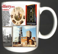 FLORENCE COLLIERY COAL MINE MUG. LIMITED EDITION GREAT GIFT MINERS NORTH STAFFS