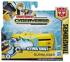 NEW~ Transformers Cyberverse Action Attackers:1-Step Changer Bumblebee Figure