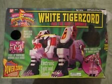 1994 Mighty Morphin Power Rangers White Tigerzord Tommy Saba MMPR Bandai Tested