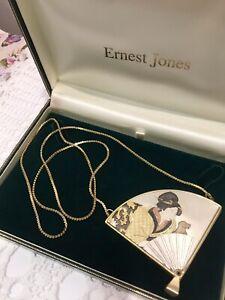 Vintage Japanese Compact/ Locket/ Necklace