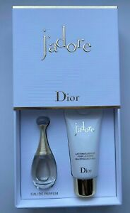 Dior JADORE EAU DE PARFUM 5 ml 0.17FL OZ BODY MILK 20 ML MINIATURE VIP GIFT SET