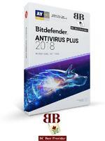 Bitdefender Antivirus Plus 2019 - 1 Year 1 User (Windows)