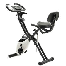X-Bike Exercise Bike 10 Resistance Levels Fitness Running Cardio Trainer Fitness