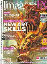 FEB 2013 IMAGINEFX science fiction fantasy art magazine