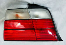 BMW E36 3 Ser Sedan 1992-1998 Clear European Spec White & Red Left Taillight OEM