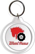 Wheel Horse Tractor Farm Garden Lawn Rider Mower Keychain Key Ring Chain Acrylic