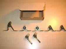 Rare Mildrum Gold Hd Roller Guides 7 Pc Set