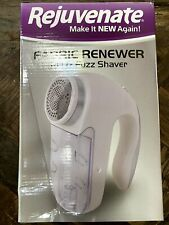 Rejuvenate Electric Fabric Renewer Pill and Fuzz Shaver - White