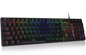 Redragon K589 Shrapnel RGB Low Profile Mechanical Gaming Keyboard