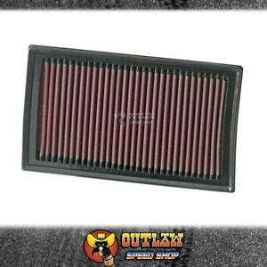 K&N PANEL FILTER FITS NISSAN MICRA 1.5L 2003-10/RENAULT CLIO 2005-12 - KN33-2927