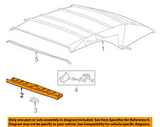 Chevrolet GM OEM 11-15 Camaro Convertible/soft Top-Front Molding 22766899