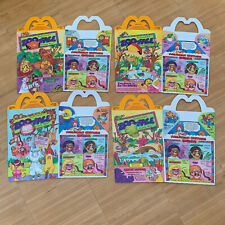 McDonalds Happy Meal Box Set 1988 ZOO FACE Fast Food Collector