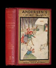 1920 Rare Book - Hans Christian Andersen's FAIRY TALES Illustrated by Attwell.