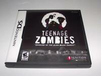 Teenage Zombies Nintendo DS 2DS 3DS Game *No Manual*