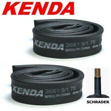 "6-Pack Kenda 26/"" 26 x 1.5 1.50 to 1.75 48mm Schrader Valve MTB Hybrid Bike Tubes"