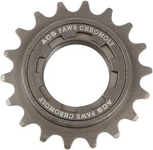 ACS PAWS 18T freewheel BMX Chromoly, gray, NOS bagged��