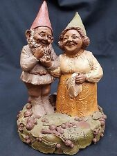 "Tom Clark Gnome ""Martha and Jay"" Signed Edition 34 1983 Coa Included"