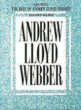 The Best of Andrew Lloyd Webber Sheet Music Easy Piano Book NEW 000290333