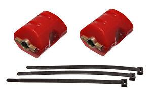 80-02 2.8L 3.4L 3.8L V6 Camaro Firebird Polyurethane Engine Motor Mounts RED