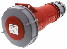 Mennekes PowerTOP Series, IP67 Red Cable Mount 4P Industrial Power Socket, Rated
