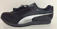 NEW Puma Mens TFX Distance V5 Track Spikes Shoes Size 12 Gray Silver $95 187538