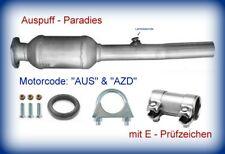 Katalysator Seat Toledo II 1.6 16V Typ 1M2 Motor AUS & AZD 77KW ->07/04+Anbaukit