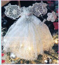 ~ Laminated Sewing & Craft Pattern For Beautiful Christmas Tree Fairy ~
