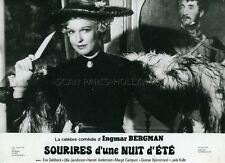 EVA DAHLBECK  SOURIRES D'UNE NUIT D'ÉTÉ 1955 INGMAR BERGMAN VINTAGE PHOTO