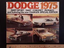 "1975 Dodge - ""Full Line""- Original Colour Dealer Sales Catalog - Brochure (Cdn)"