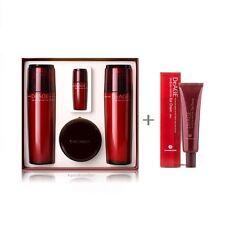 CHARMZONE DeAGE CRD RED Emulsion Toner Eye Cream Essence 4 + 1 Set Free Tracking