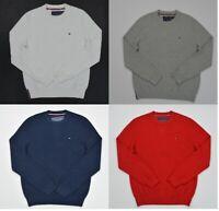 NWT Men's Tommy Hilfiger Textured Pullover Sweater Sizes XS S M L XL XXL