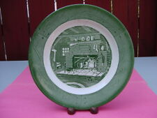 """VINTAGE ROYAL CHINA COLONIAL HOMESTEAD 10"""" DINNER PLATE"""