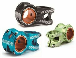 "New In Box DA BOMB ""KING"" MTB AM FR 1-1/8"" 50mm STEM,Bar 35mm/31.8mm,Bk/Blue/Grn"