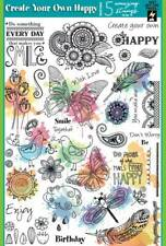 Creative Stamping Magazine 69 with ' Create Your Own Happy ' Stamp Set