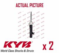 2 x FRONT AXLE SHOCK ABSORBERS PAIR STRUTS SHOCKERS KYB OE QUALITY 334698