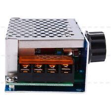 Hochleistung 4000W AC 220v SCR Spannung Regler Drehzahlregler mit Gehäuse