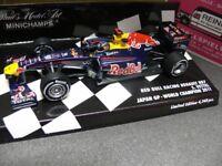 1/43 Minichamps Red Bull Racing Renault RB7 Vettel Japan GP-World Champion 2011