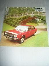 Fiat 131 mirafiori 1600 précautions brochure mar 1976