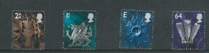 GB Wales Definitives W83 - W86 - 8 June 1999