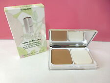 NIB Clinique Acne Solutions Powder Makeup Compact - 15 Beige (M-N) Boxed